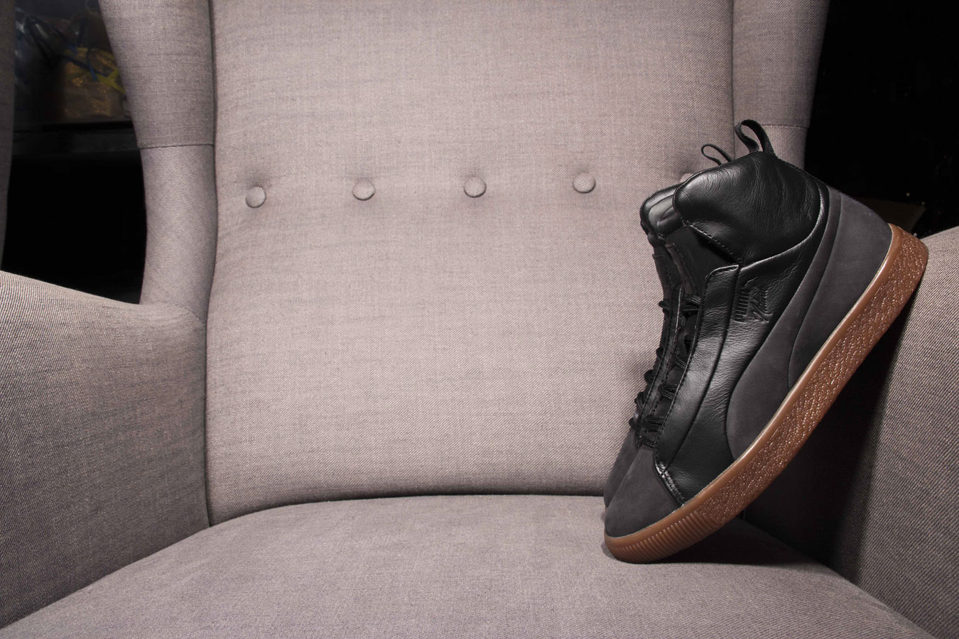 the best attitude 263c7 a7e2d Puma x Naturel Clyde FSHN Mid 364453-01