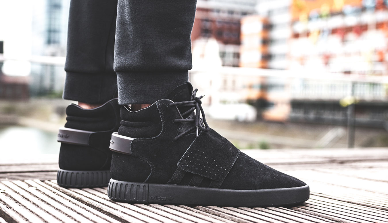 ... adidas Tubular Invader Strap Core Black. SKU  BY3632 26127e617