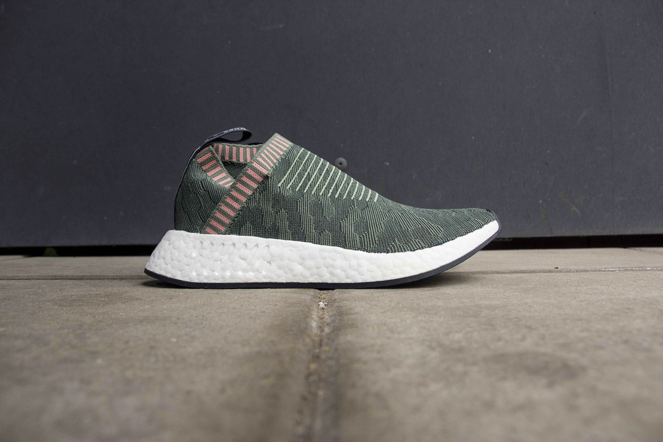 ecf4ff66e ... adidas NMD CS2 City Sock Trace Green. SKU  BY8781