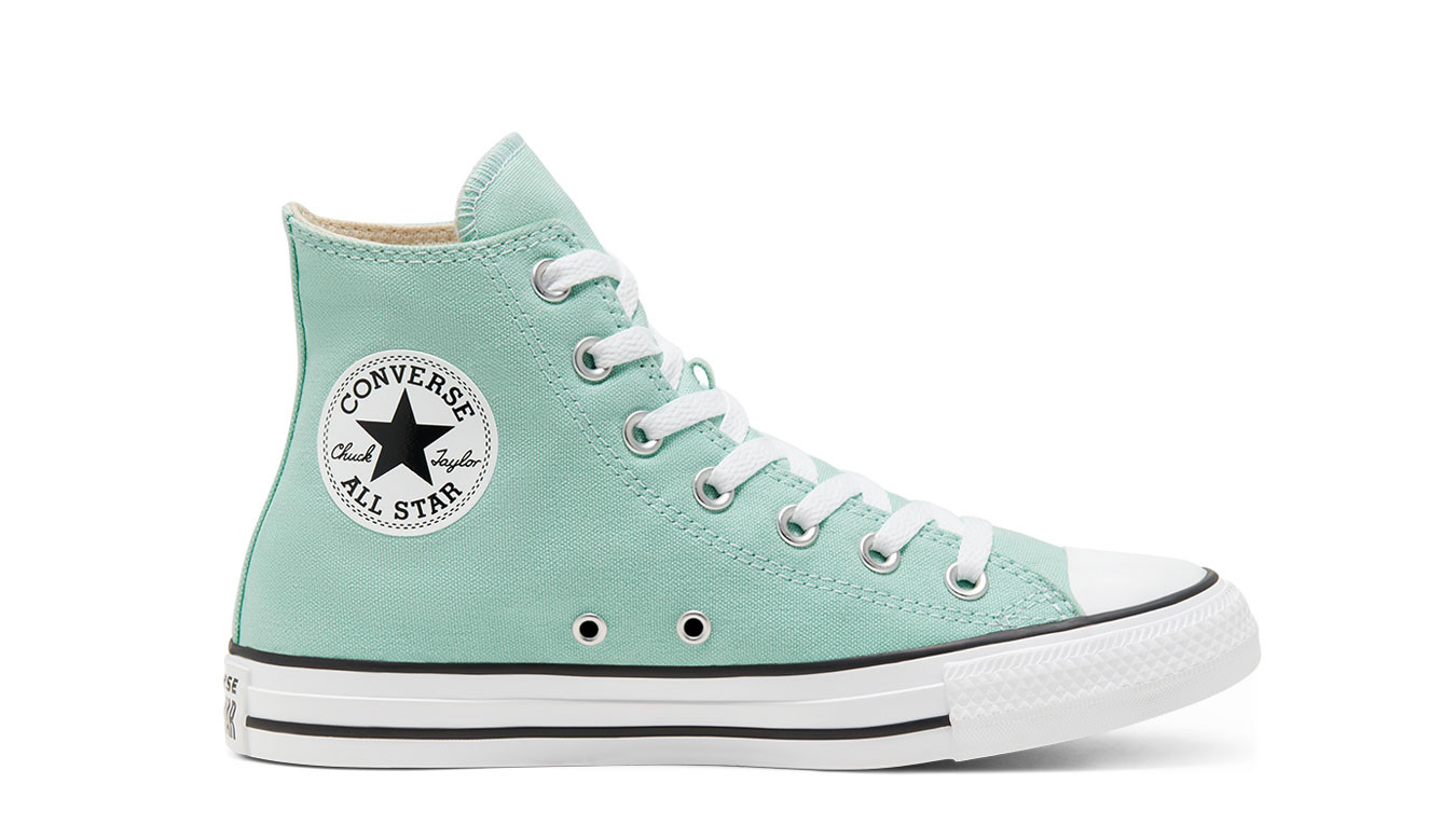 Converse Chuck Taylor All Star Hi in grün 166707C | everysize