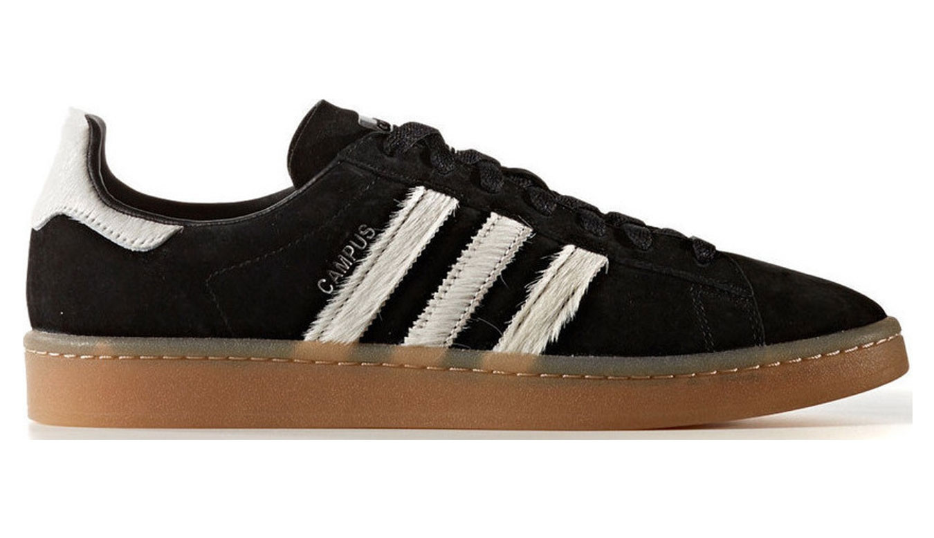 huge discount f5413 95c5f adidas Campus Clear Black BZ0071