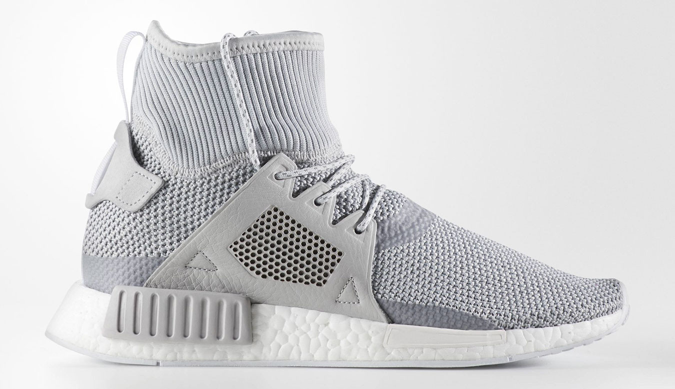 ADIDAS ORIGINALS NMD XR1 WINTER SNEAKERS IN GRAY BZ0633