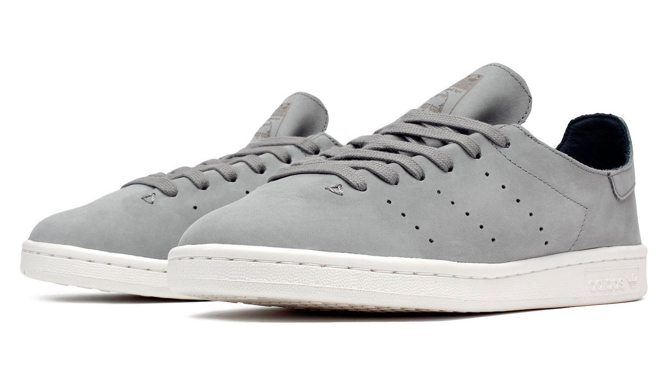 on sale 76a03 69bec adidas Stan Smith Leather Sock