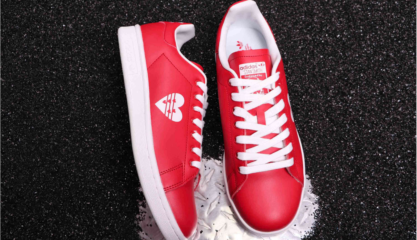 outlet store 05292 2e778 adidas Stan Smith W Active Red G28136