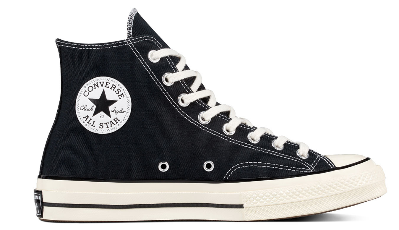 Black sneakers Converse Chuck Taylor All Star 70s 86