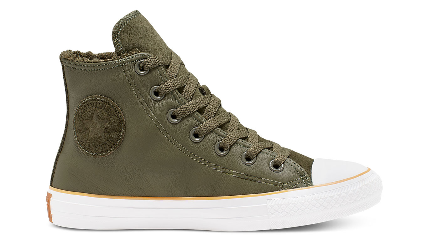 Converse Frosted Dimensions Chuck Taylor All Star Leather
