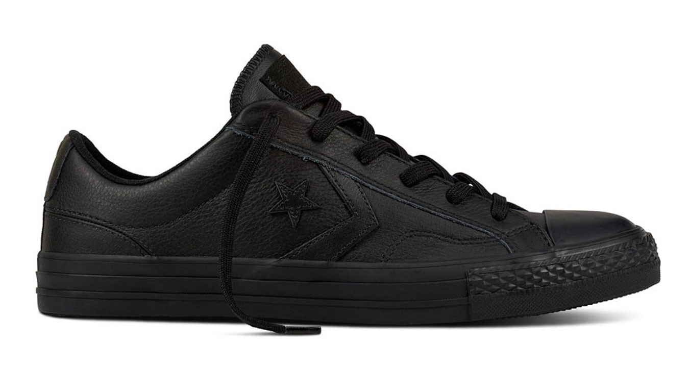 ganska billigt New York överlägsen kvalitet Black sneakers Converse Star Player Leather - 62$ | 159779C | Shooos