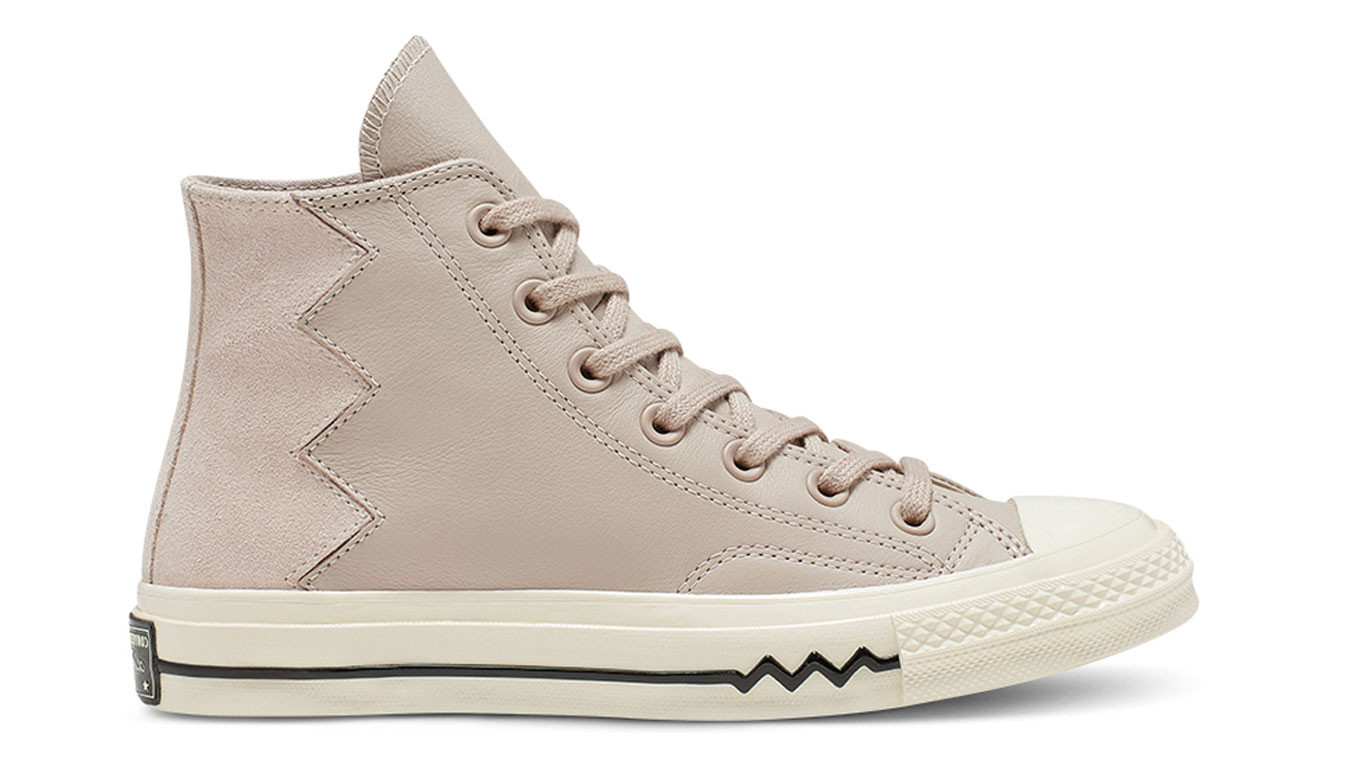 Light Brown sneakers Converse Voltage VLTG Leather and Suede
