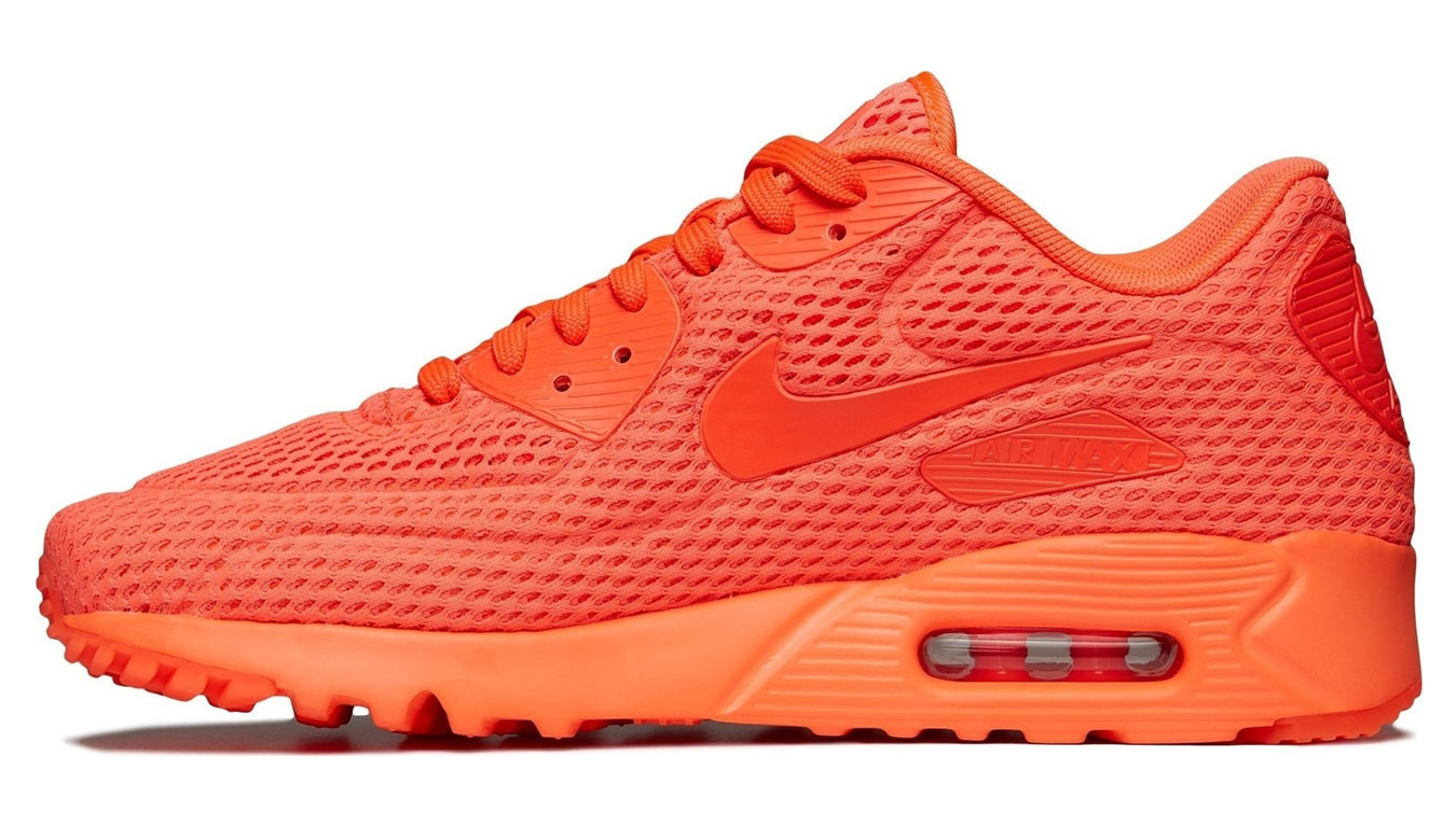 Nike Air Max 90 W shoes neon orange