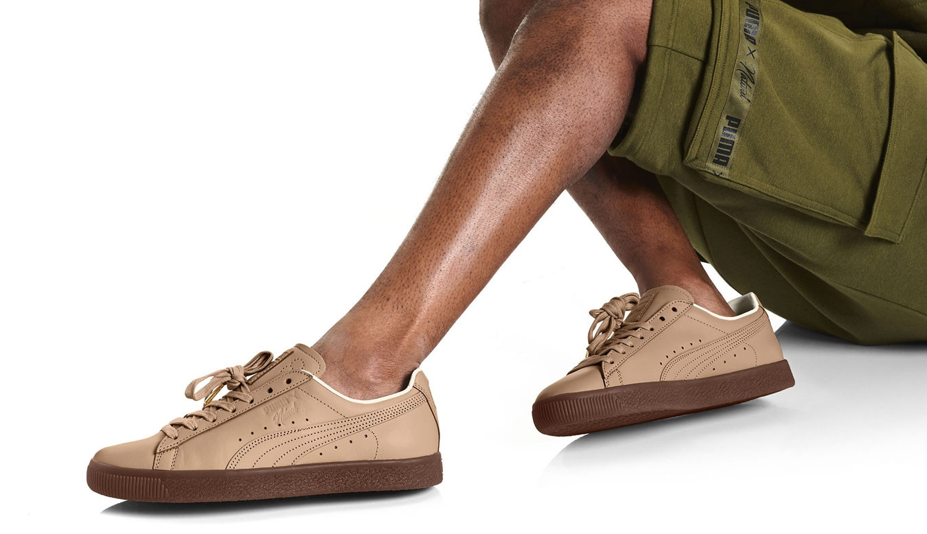 the best attitude e403f 20bef Puma Clyde Veg Tan NATUREL Natural