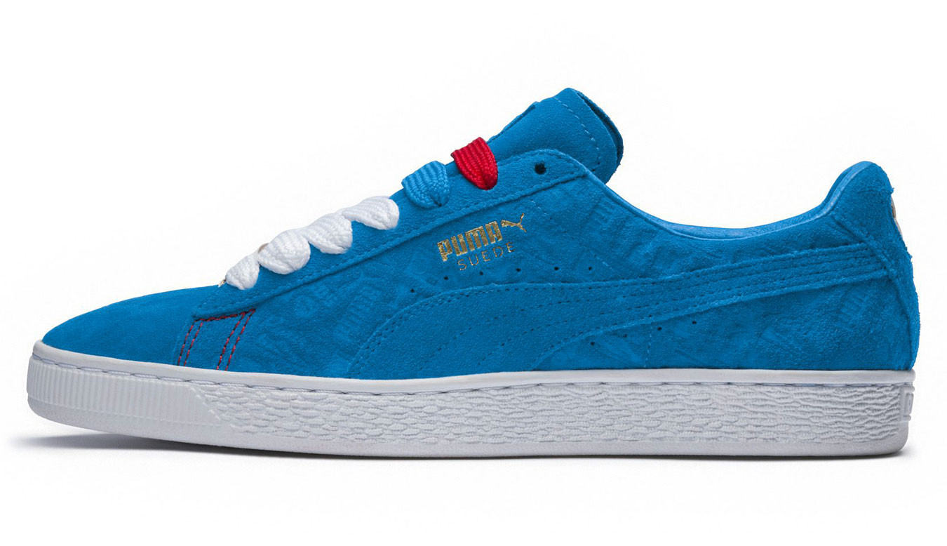 4836dc9919a Puma Suede Classic PARIS Trainers | Blue | 60$ | Sneakers | 36629801 |  Shooos