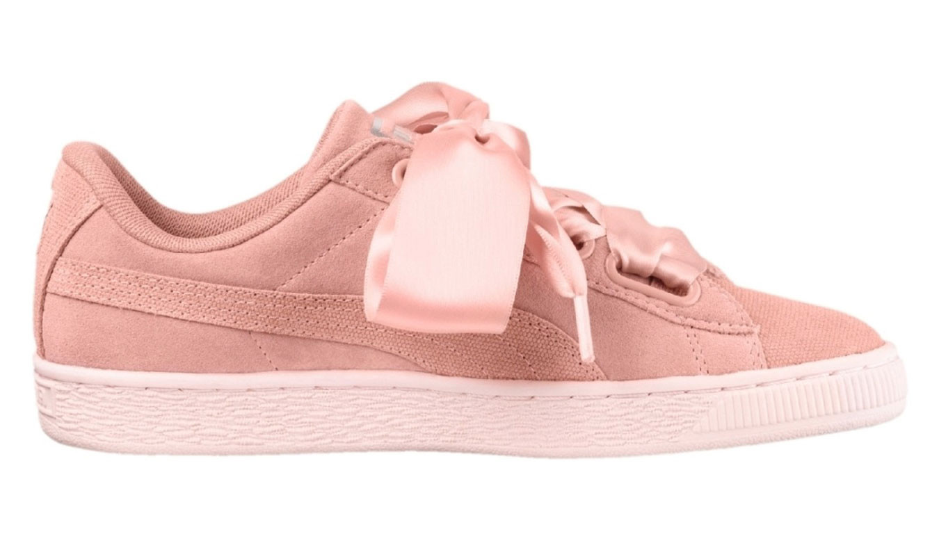 new concept 5bcb6 9fc93 Puma Suede Heart Pebble