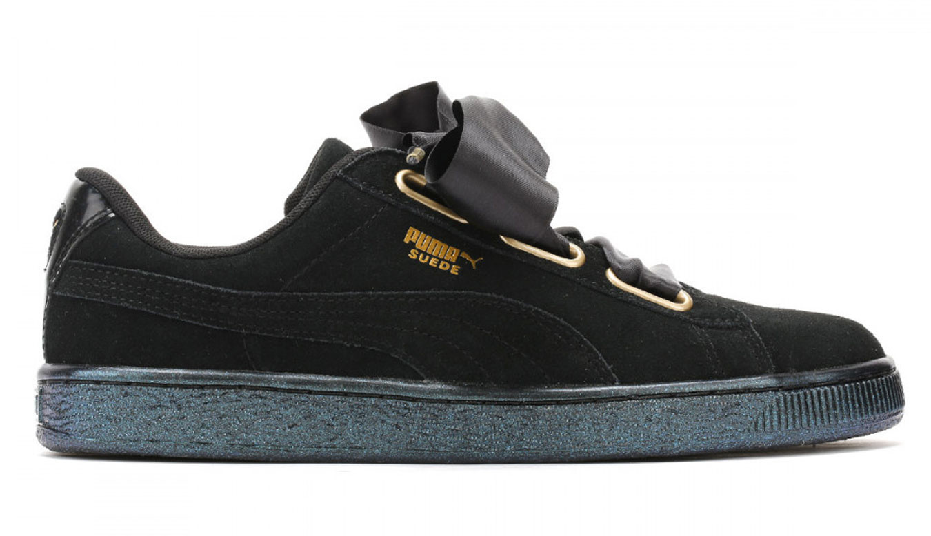 finest selection a9158 0990e Puma Suede Heart Satin