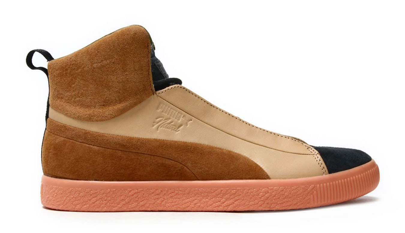 buy popular e613e f7fc0 Puma x NATUREL Clyde FSHN Glow Mid