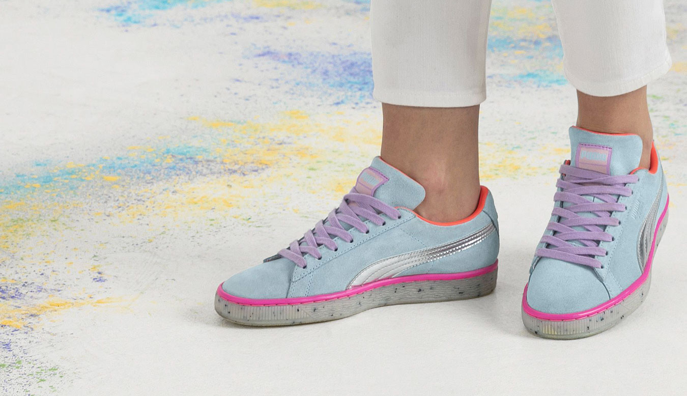 Puma x SOPHIA WEBSTER Suede Candy Princess