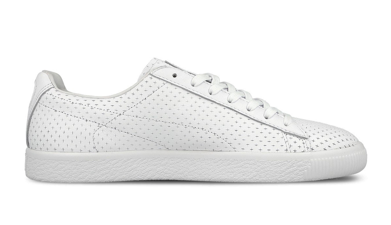 free shipping f9a97 25547 Puma x Trapstar Clyde Perforated