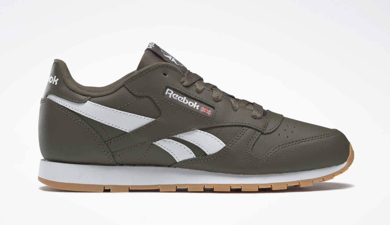 Reebok Classic Leather Army Green - 34