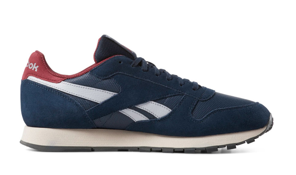 Reebok Classic Leather Navy Red - 66