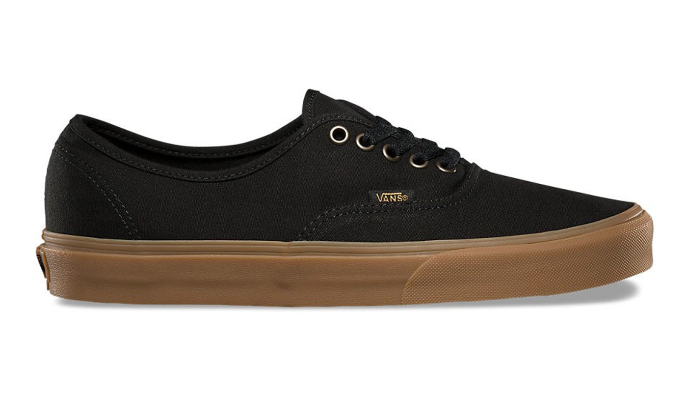Vans Authentic Light Gum Black