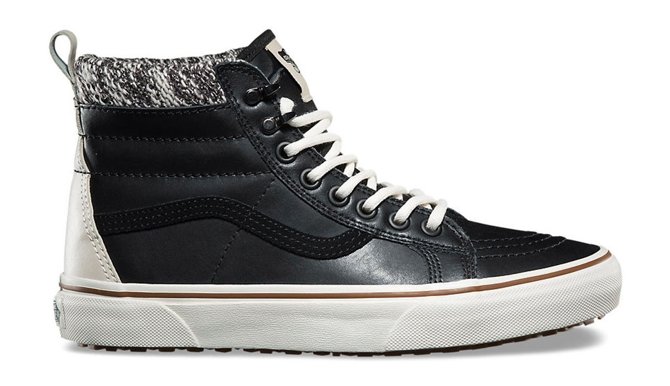 Vans SK8 Hi MTE Black Leather