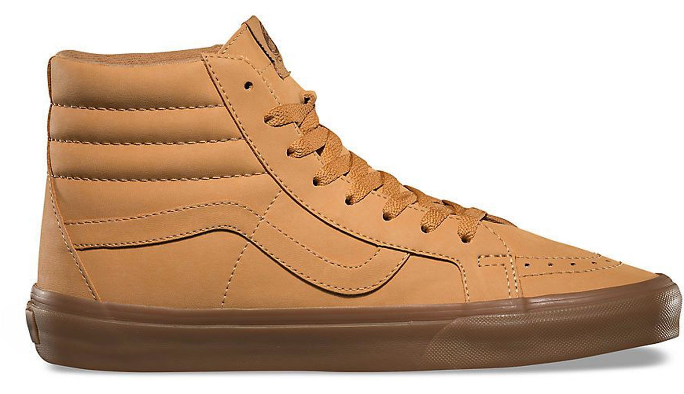 Vans SK8-Hi Reissue Light Gum Leather VA2XSBOTS c4612cb13