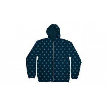 Dedicated Windbreaker Dots Navy