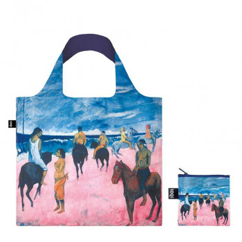 LOQI - PAUL GAUGUIN - Horseman on the beach bag
