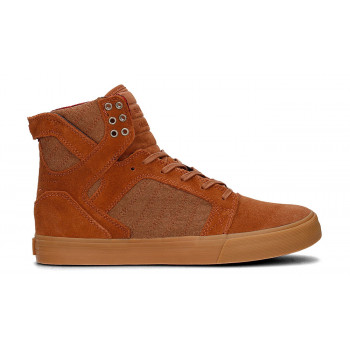 Supra Skytop Brown Red Gum