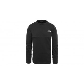The North Face M Mountek Crew Tnf Black Hthr