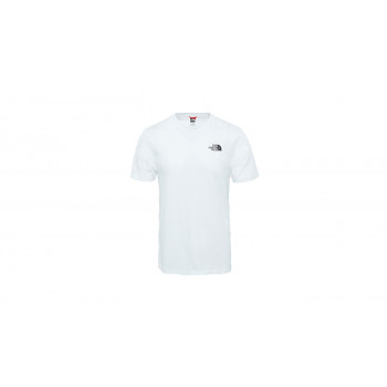 The North Face M Ss Simple Dome Tee Tnf White