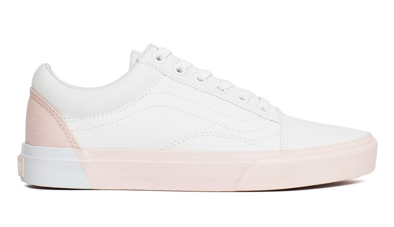 f1854b112953 ... Vans Old Skool Blocked Pearl True White. SKU  VA38G1OC4