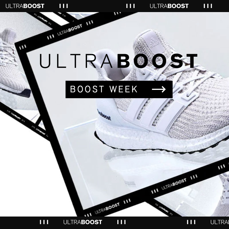 adidas UltraBOOST week